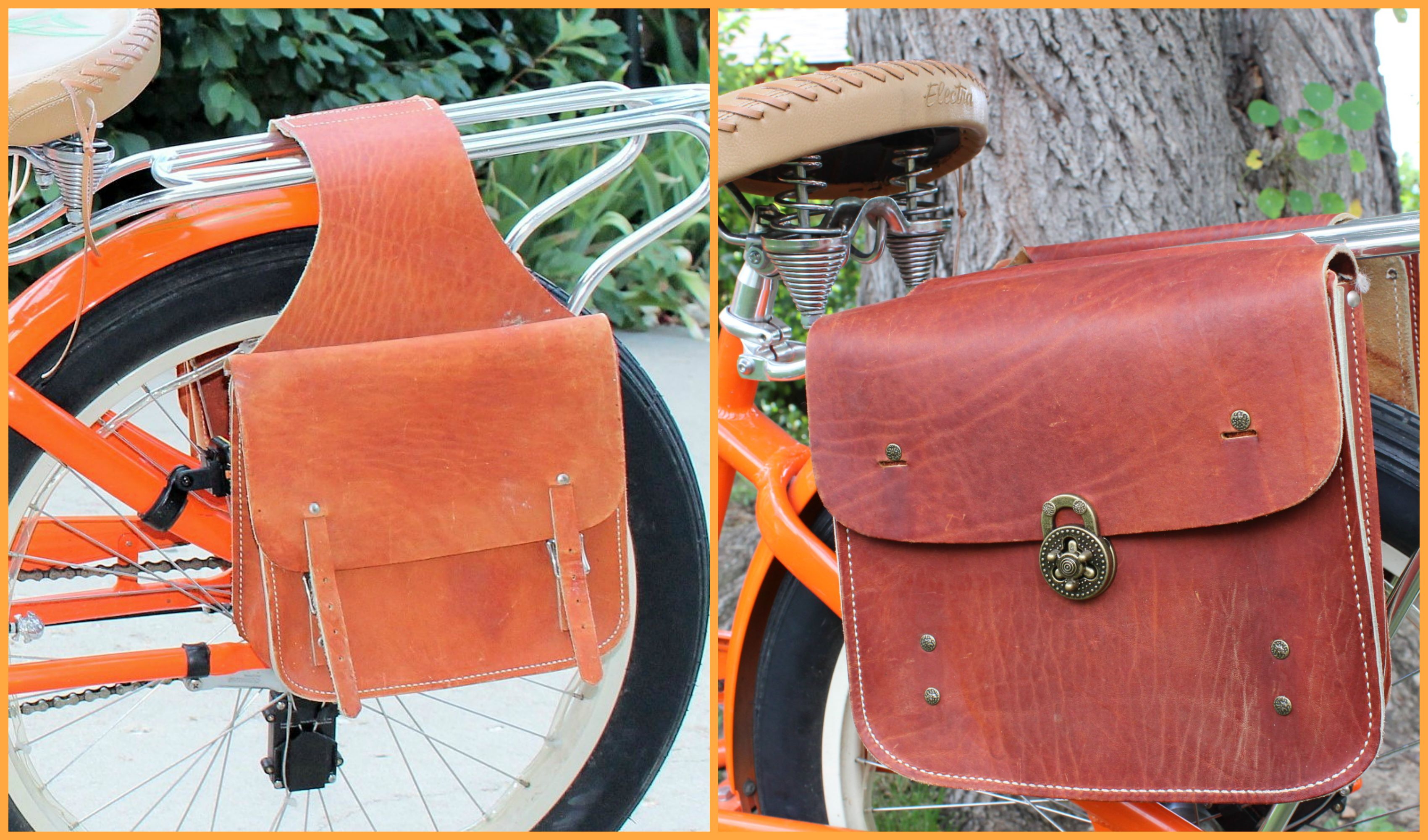Saddlebags BEFORE & AFTER