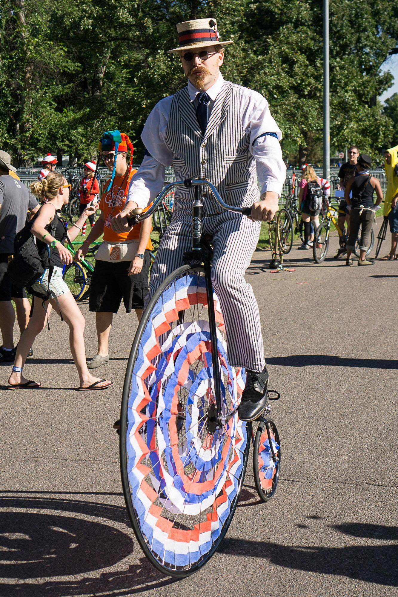 Penny-Farthing bicycle