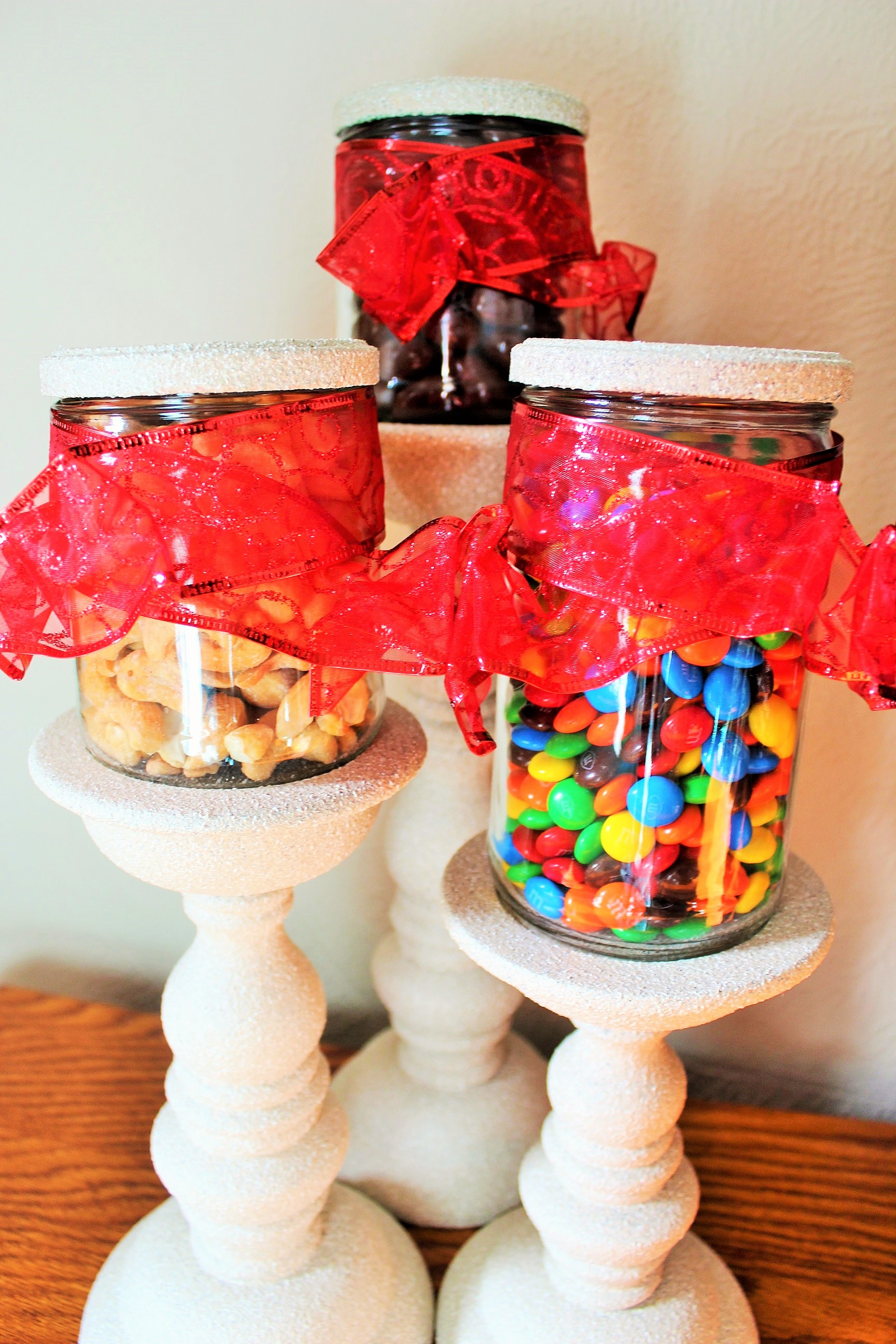 Upcycled Candy Jars